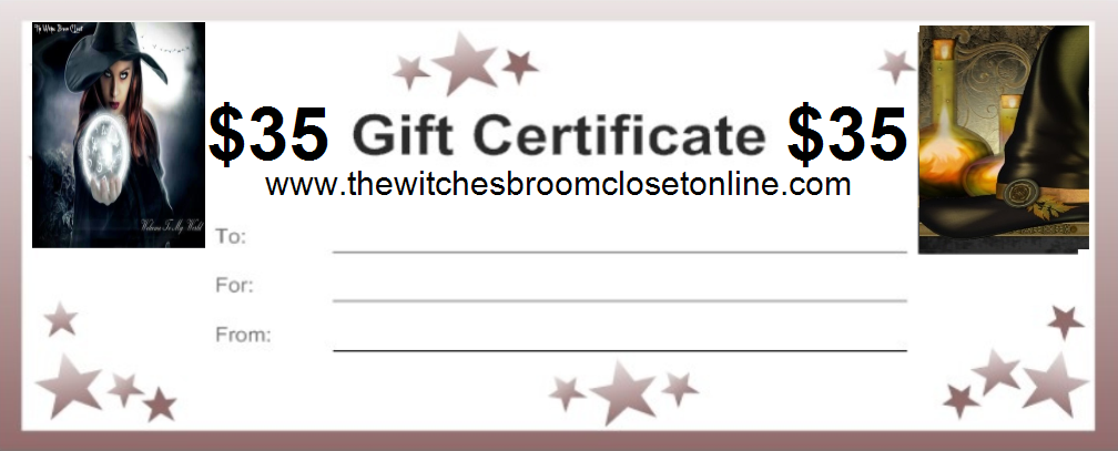35.00 Gift Certificate