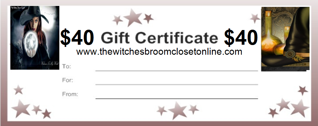 40.00 Gift Certificate