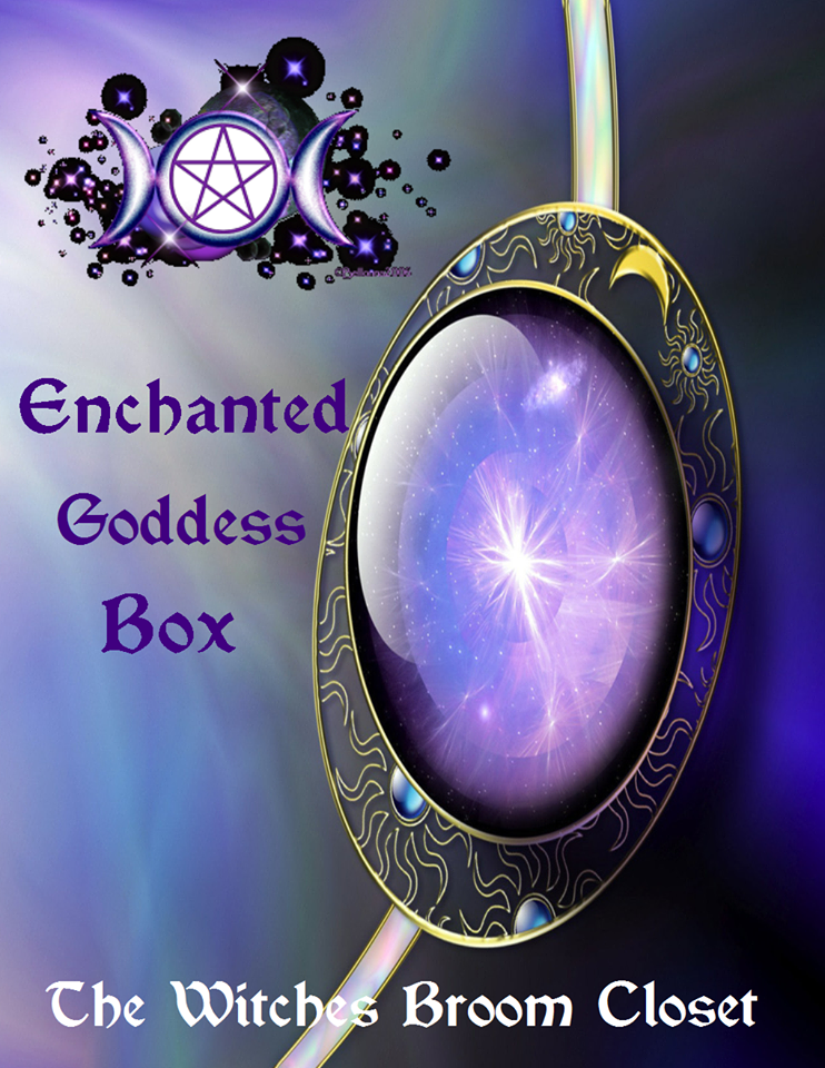 Enchanted Goddess Box *Shipping included in price*