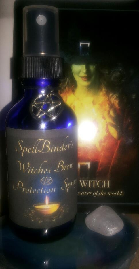 SpellBinders Witches Brew Protection Smudge Spray