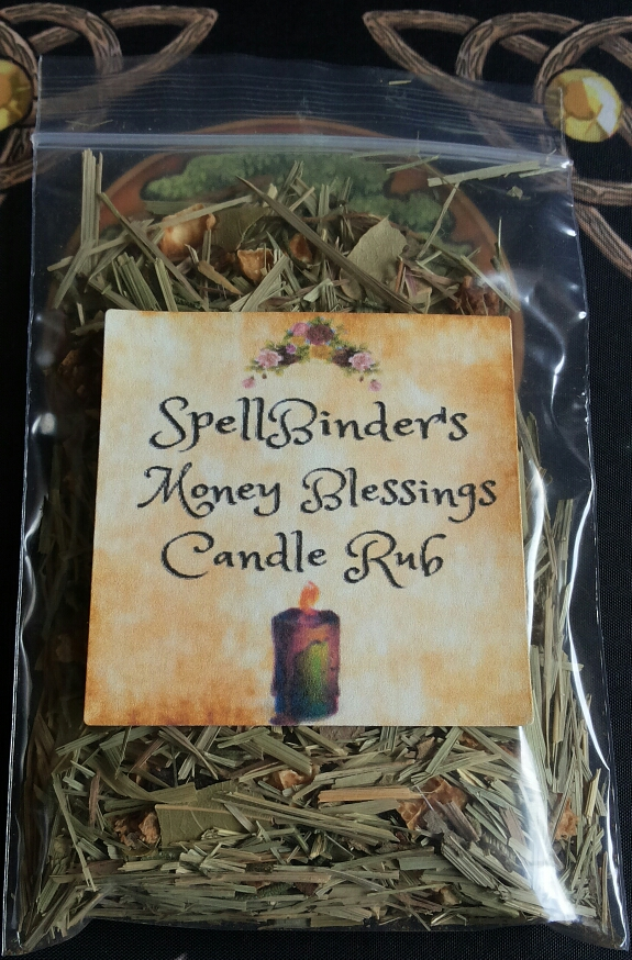 SpellBinders Money Blessings Candle Rub