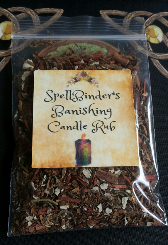 SpellBinders Banishing Candle Rub