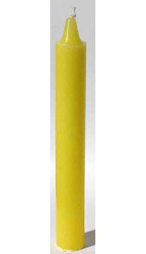 "6"" Yellow taper"