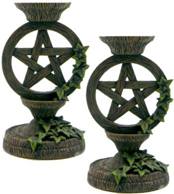 Pentagram taper holder set 5 1/2""