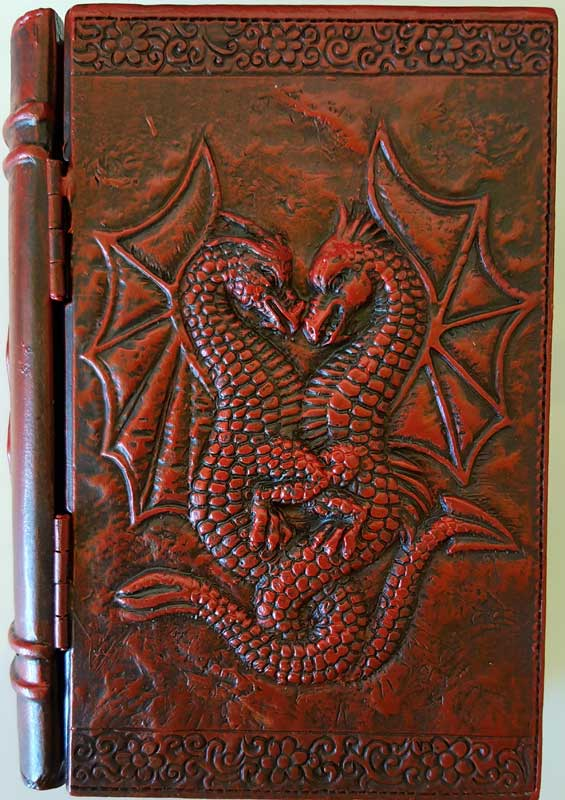 "4"" x 6"" Dragon book box"