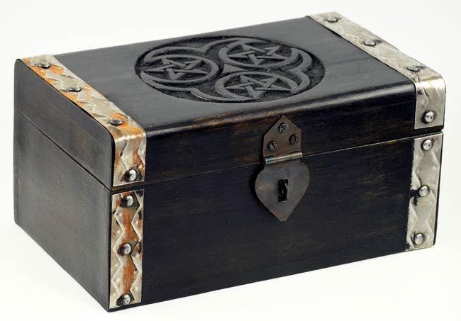 Hecate Triple Pentagram Chest