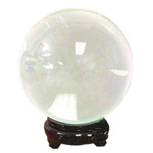 35 mm Clear crystal ball