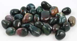 1 Lb Bloodstone tumbled