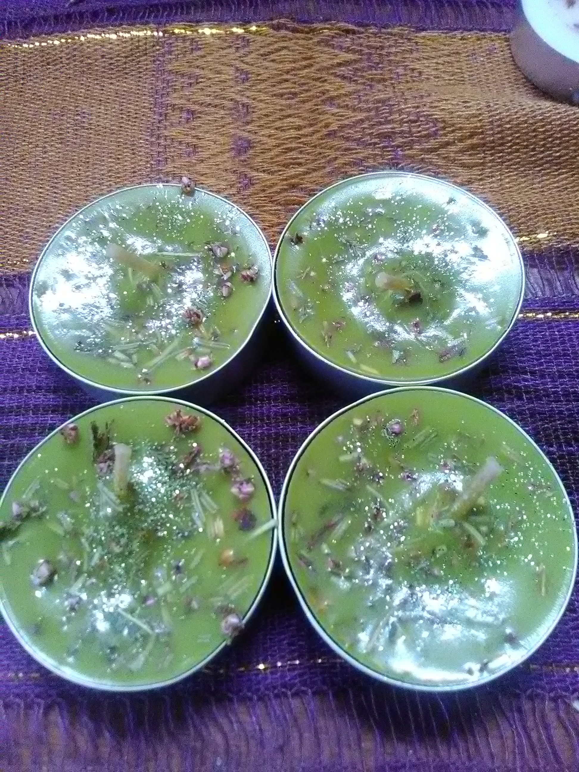 Enchanted Forest Loaded Spell Tea Lights 4 in a pack