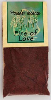 1oz Fire of Love incense