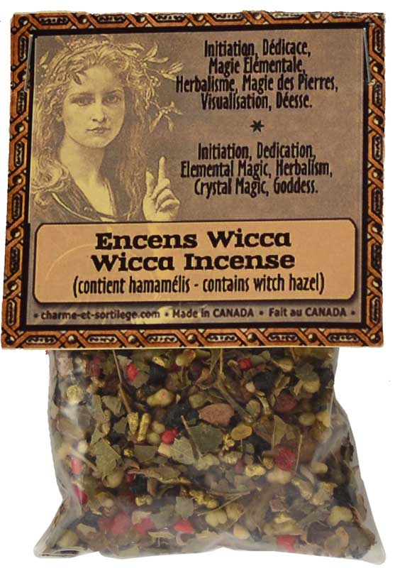 Wicca resin/ herb incense