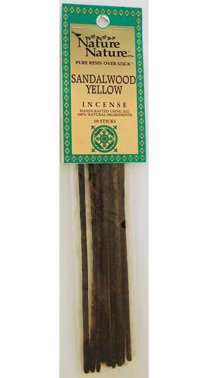 Sandalwood Yellow nature stick