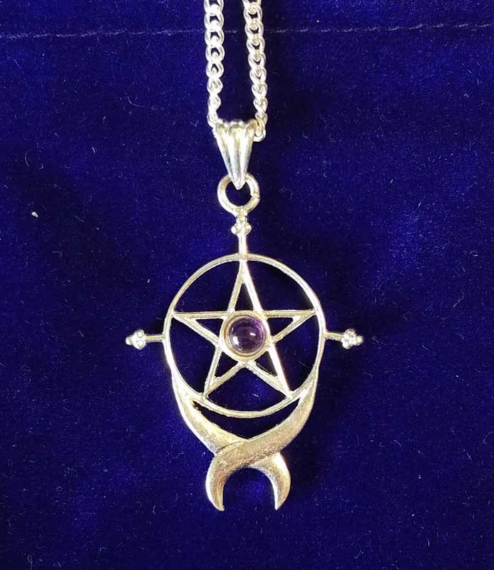 "1 1/2"" Endless Pentagram with pouch"