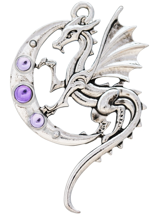 Luna Dragon for Strength on Life's Journey