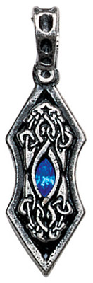 Eye of the Ice Dragon Pendant for Harmony & Stability