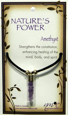 Amethyst Pendant for Healing of the Mind and Body