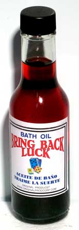 Bath Oil: Bring Back Luck 5oz