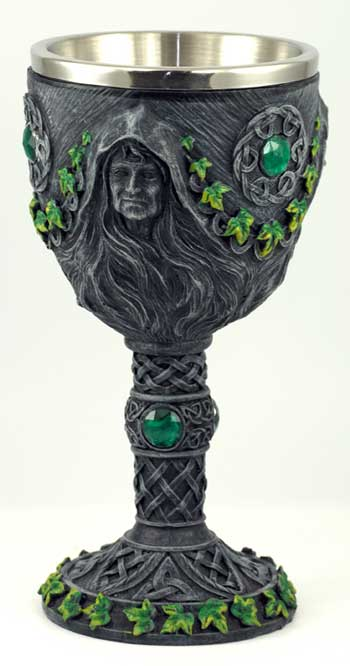 Maiden, Mother & Crone chalice