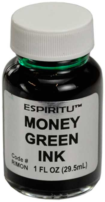 Money Green ink 1 oz