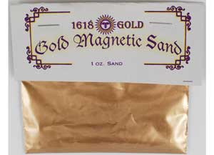 1618 Gold Magnetic Sand 1oz