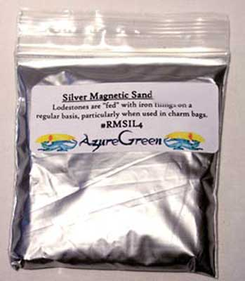 Magnetic Sand Silver 4oz