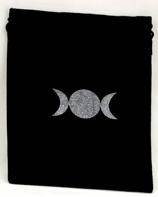 "Triple Moon Bag 6""x7"""