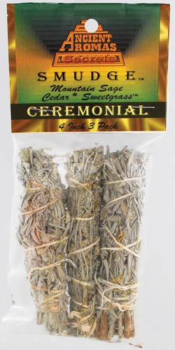 Ceremonial smudge 3-Pack