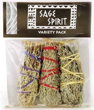 Smudge Stick Variety Pack 5""