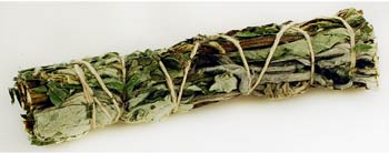 Small Black Sage Smudge