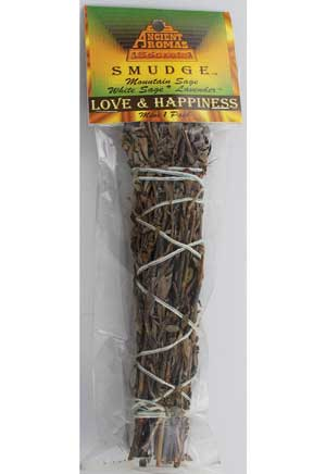 "Love & Happiness smudge 5""- 6"""
