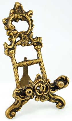 Brass Scrying Mirror Stand 6""