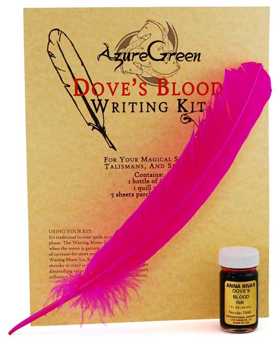 Writing Kit Dove's Blood