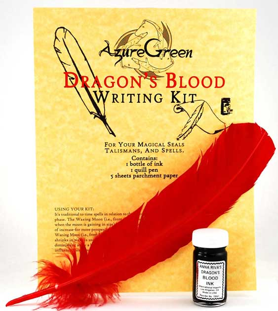 Writing Kit Dragon's Blood